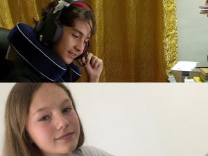 Klasse 9 D auf virtueller Reportertour in Russland unterwegs