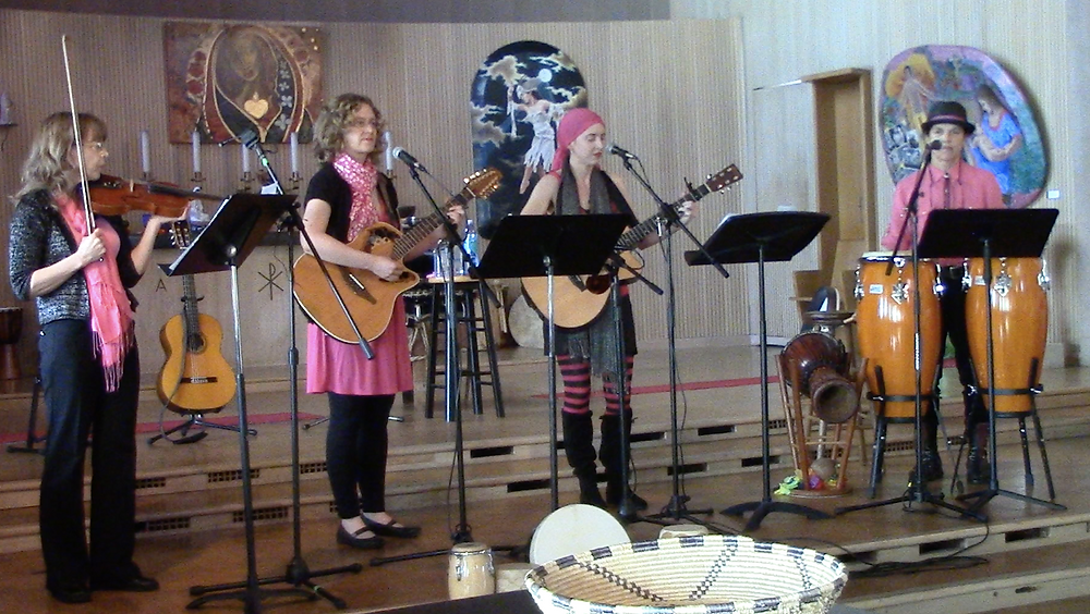"5th Birthday Party Concert- performing ""Mountain Mother"""