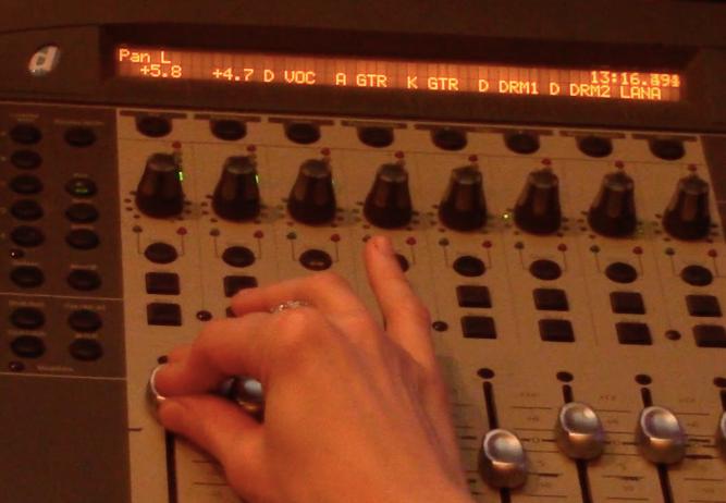 Mixing at Hoffmann Studios