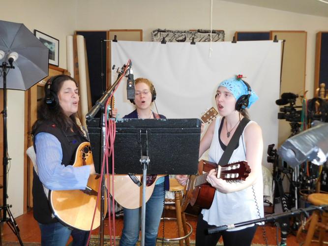 Recording at Hoffman Studios