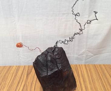 """""""scholars' rocks"""" _ Ikebana arrangements"""