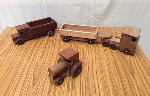 Wooden Trucks