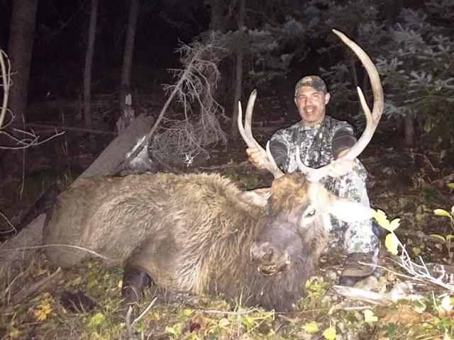 Mike Ragni 1st hunt