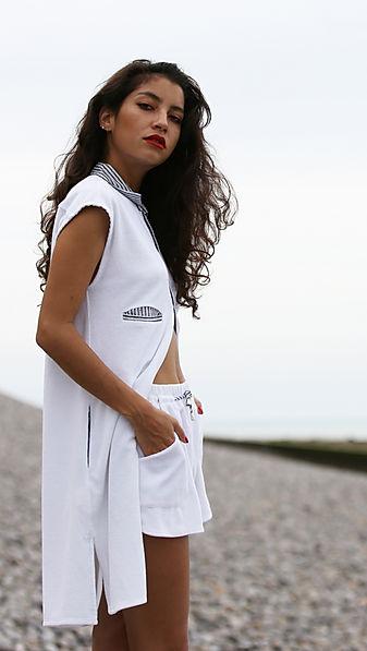Robe chemise Santa Giulia & short Coco Beach