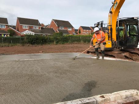 Self Levelling Concrete