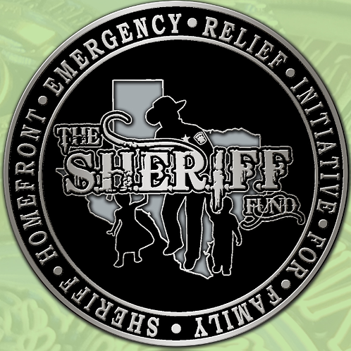 "The S.H.E.R.I.F.F. Fund/St. Michael 1.5"" Challenge Coin"