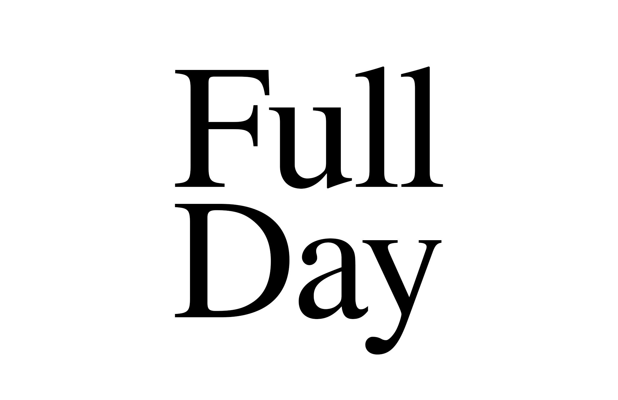 Full Day