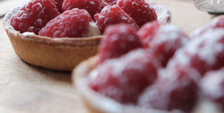 Individual Raspberry Tart