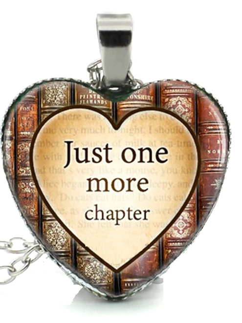 One More Chapter Necklace
