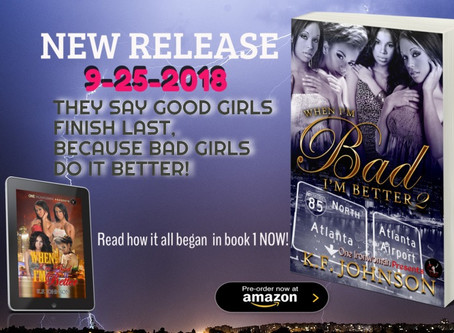 *When I'm Bad I'm Better 2* BOOK RELEASE & CONTEST!