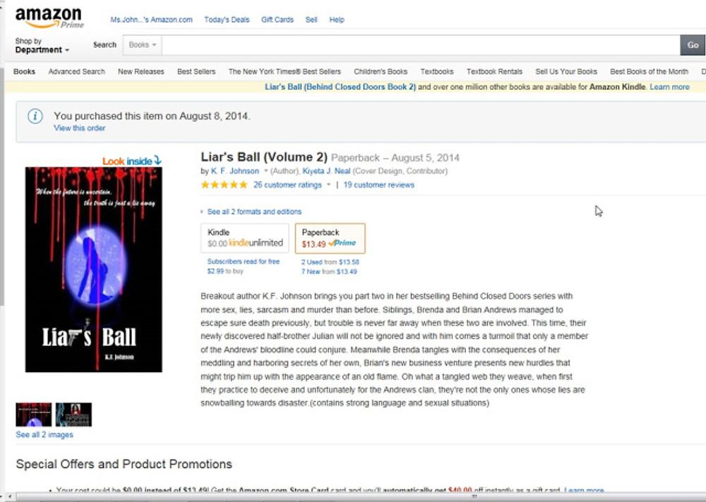 Liar's Ball Customer ratings