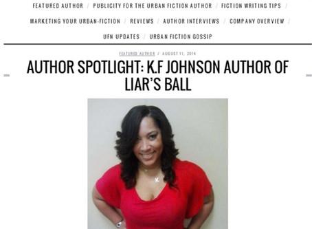 AUTHOR SPOTLIGHT: K.F JOHNSON AUTHOR OF LIAR'S BALL