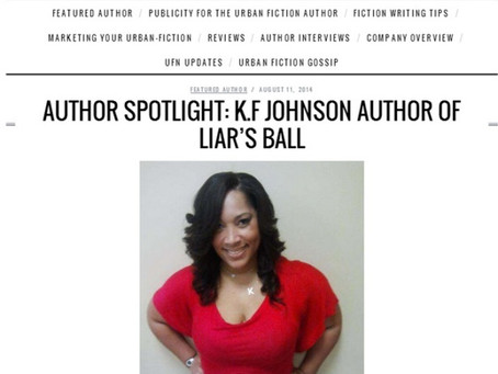 AUTHOR SPOTLIGHT: K.F JOHNSON AUTHOR OF LIAR'S BALL