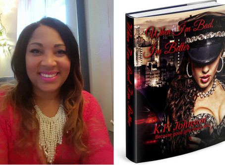 Saturday Night with Sapphire J Blue and Author K. F. Johnson