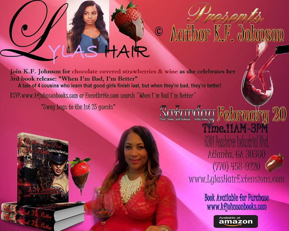 Book Release Ad