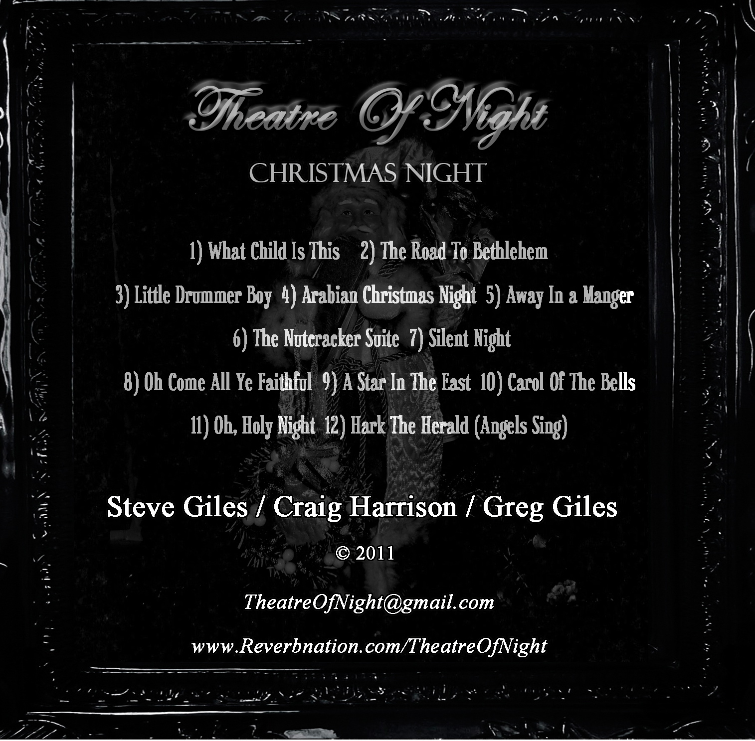 Christmas Night Album Back