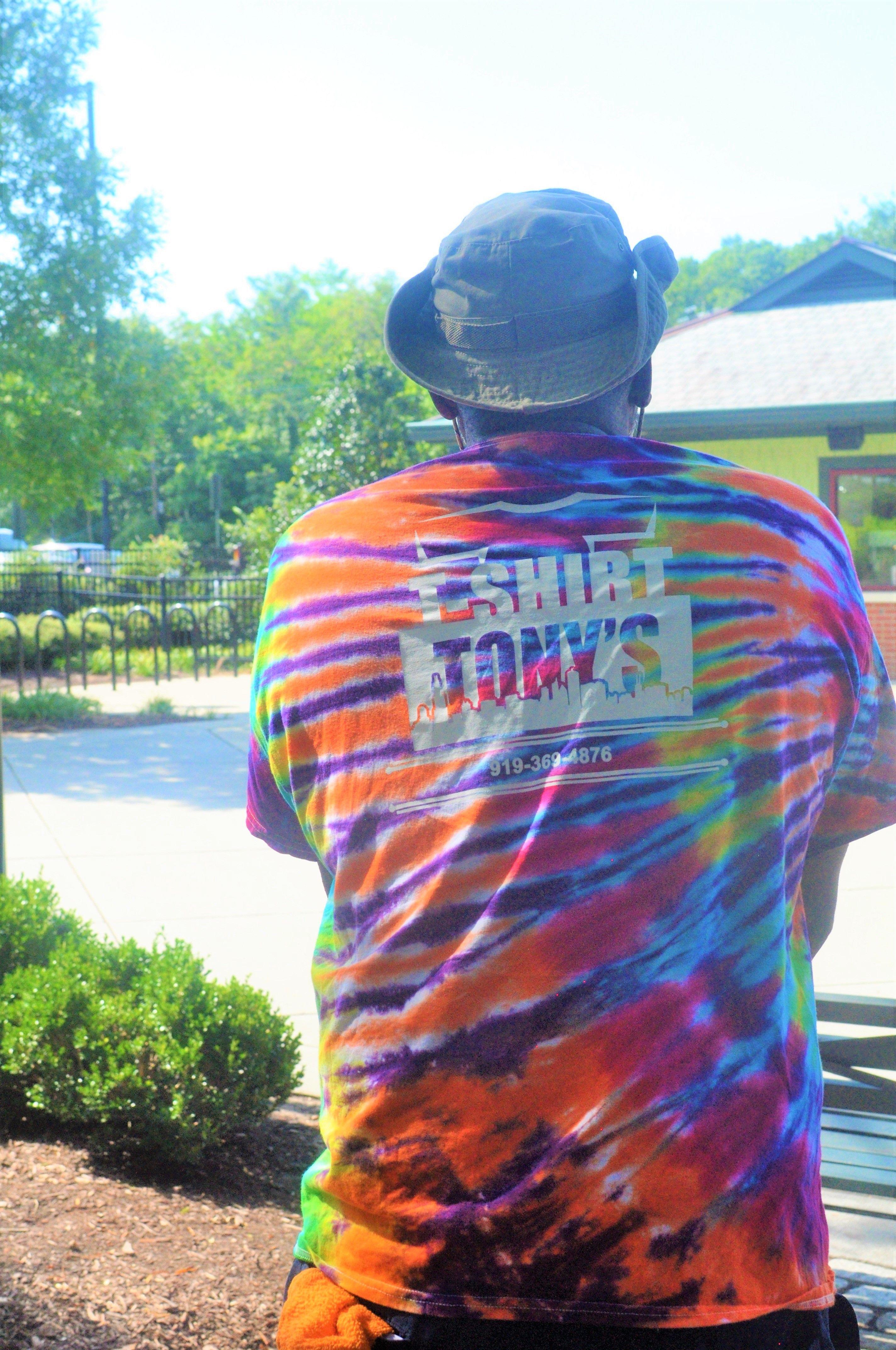 8ffbbf168 T-shirt Tony's Custom ApparelRaleigh Durham Chapel Hill   T-shirt Tony