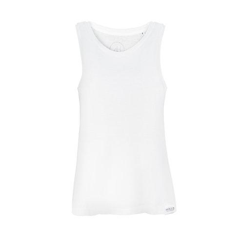 The Harleco cropped tee (White)