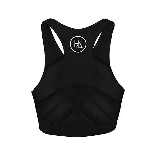 The Black Koa bra