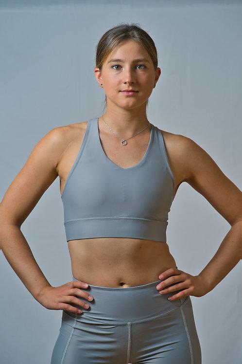The Grey Koa bra