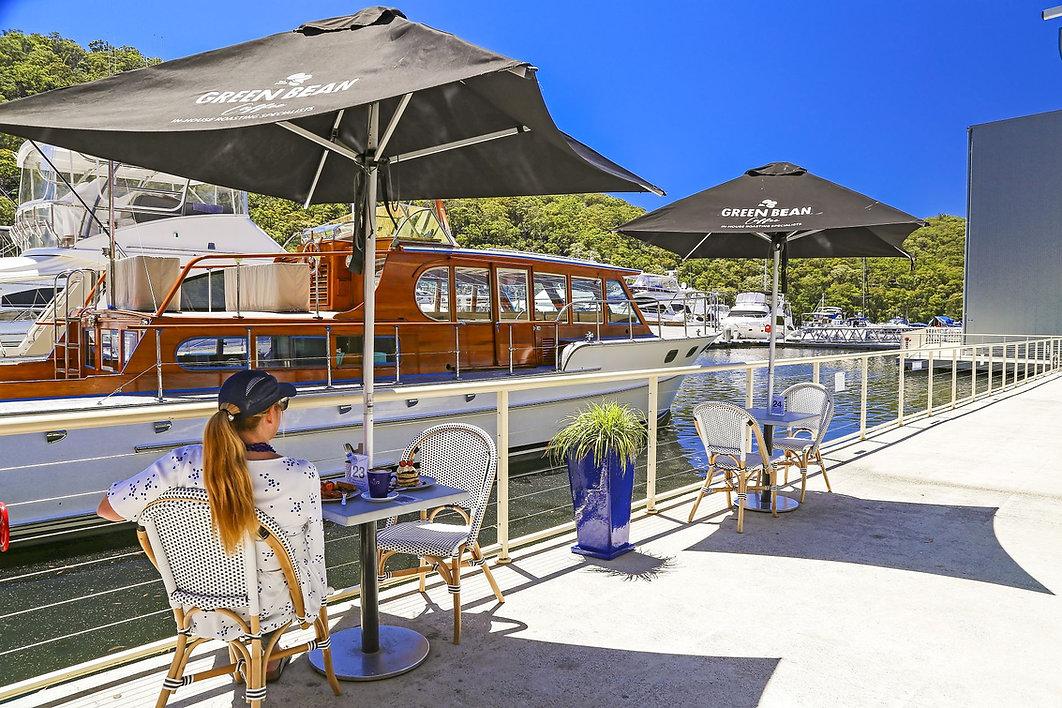 waterfront cafe & restaurant Bobbin Head Sydney