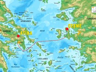 Çeşme'den Atina'ya Oceanis 48 ile Yılbaşı Serüveni