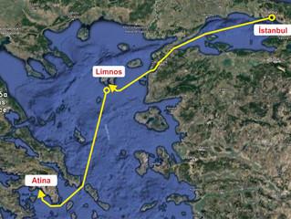 İstanbul'dan Atina'ya yelken açıyoruz!