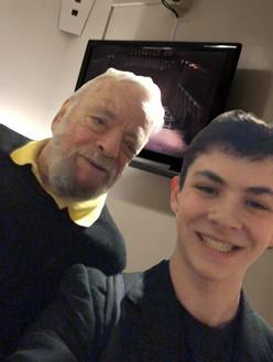 Selfie with Stephen Sondheim! (November 2019)