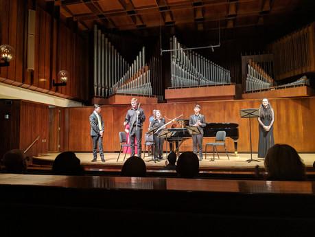 The Juilliard School Pre-College Senior Composition Recital at Paul Recital Hall (April 2019)
