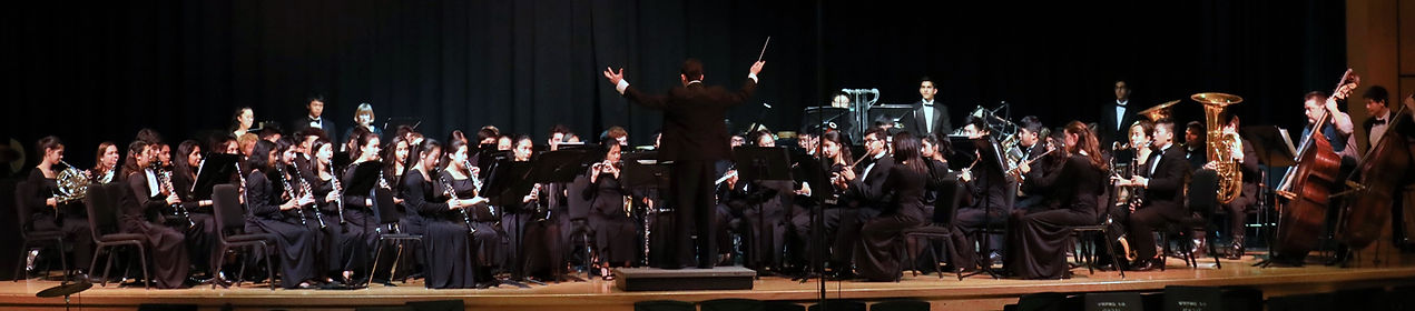 Louis A. Josephson conducting the Symphonic Winds of WW-P High School South