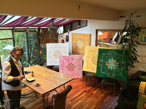 YANTRA PAINTINGS FOR HOME