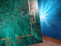 Yantra Paintings in creation