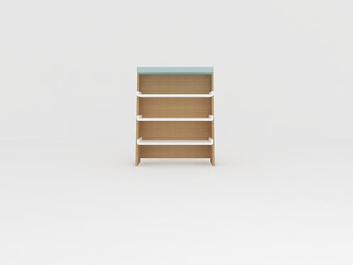 Mini estante sem baús