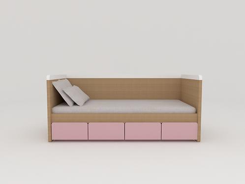 Mini cama sem grade