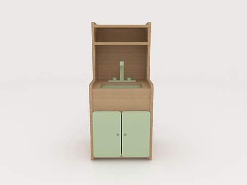 Mini cozinha módulo cuba