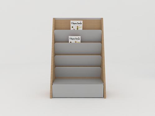 Mini estante livros - com baú