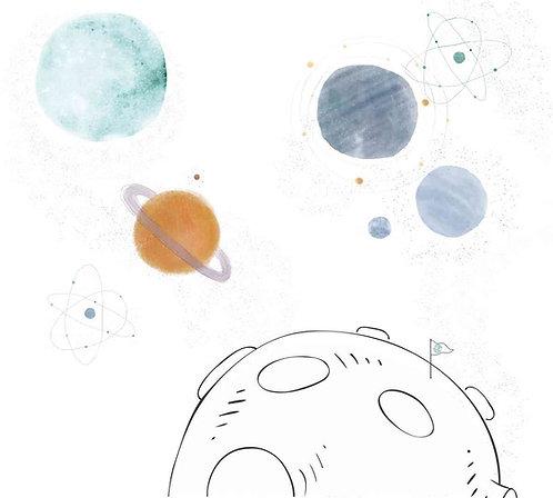 Painel Planetas