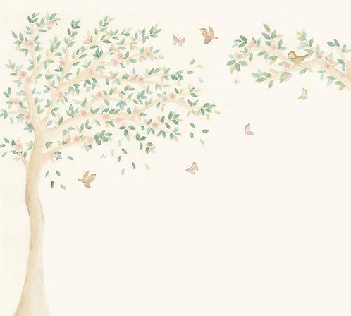 Painel Árvore Sakura