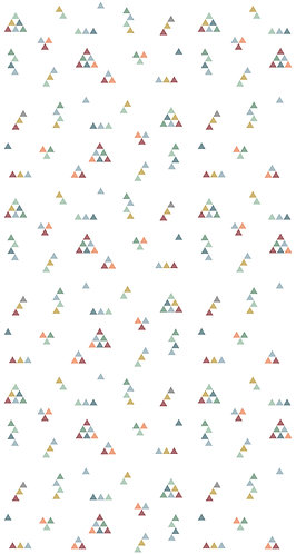 Papel Mini Triângulos - ver cores disponíveis aqui!