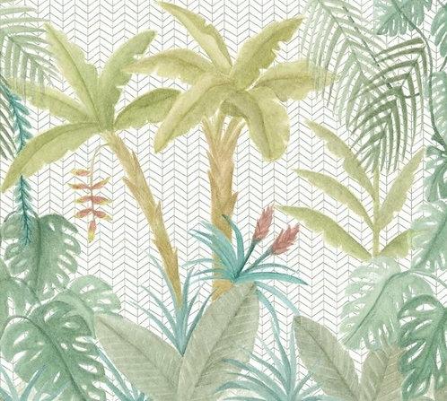 Painel Selva Flora
