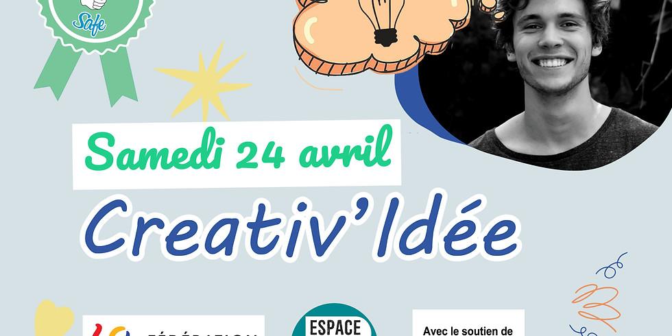 Appel à Projet Jeunes - Creativ'Idée