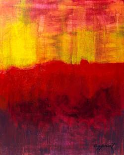 Landscape a la fire