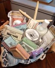 Champlain Sea Soap & Bath Basket
