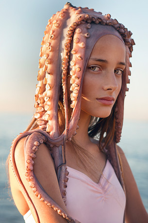 "Model:  Julia Mayer  for:""SUGAR KIDS"" - model agency Barcelona & Madrid."