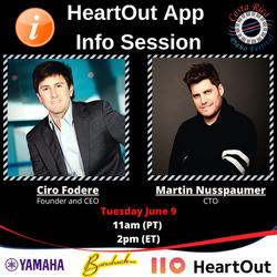 HeartOut info session