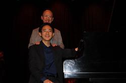 Ben and his student Kai De