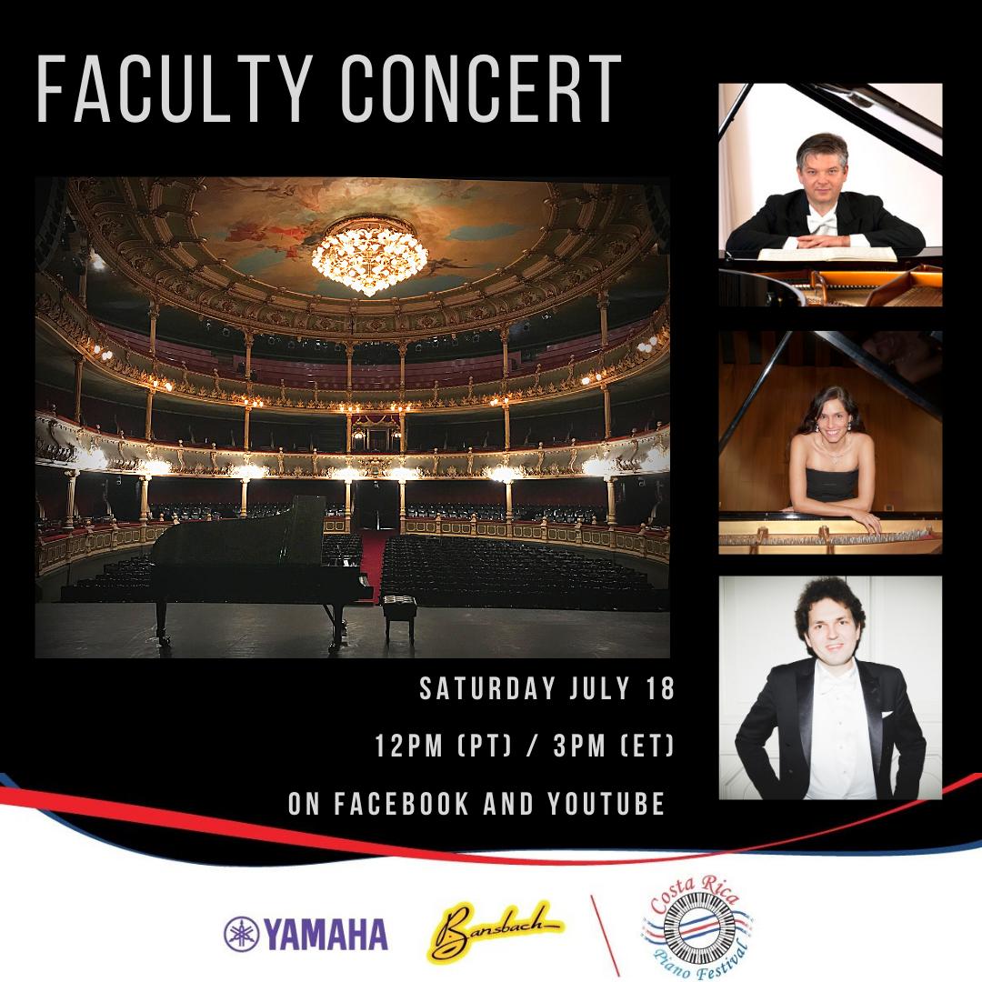 CRPF Faculty Concert