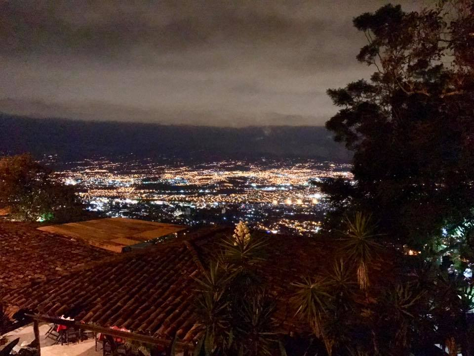 Beautiful night view of San Jose
