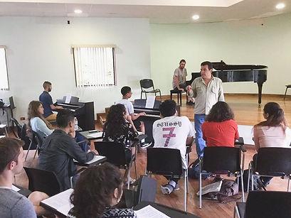 Costa Rica Piano Festival Improvisation.
