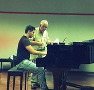 Private Lesson Costa Rica Piano Festival
